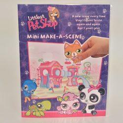 Kreatív matrica játék csináld magad mese jelenetek Littlest Pet Shop