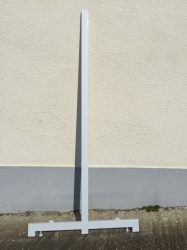 Fém polc láb gondola 160cm