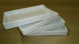 Porcelán kínáló tálka 4db-os 14x7cm 0281