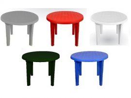 Asztal kerek zöld sterk