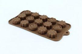 Csokiforma szilikon vegyes ENG-247 21x10x2 cm