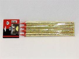 Torta tűzijáték, gyertya 4 db-os 25 cm